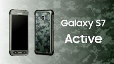 New *UNOPENED* Samsung S7 ACTIVE 32/G891A AT&T Smartphone/Camo Green/32GB