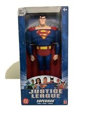 "Justice League ANIMATED SERIES SUPERMAN 10"" Inch Figure"