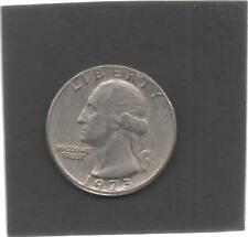 Moneta Stati Uniti United States Quarter Dollar 25 Cent 1973 D Washington STU181