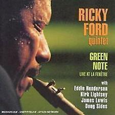 Cd - Ricky Ford Quintet Green Note [CD]