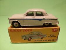 DINKY TOYS 176 AUSTIN A105 SALOON - CREAM 1:43 - GOOD CONDITION IN BOX