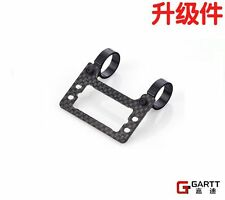 Free shipping GARTT CF & metal tail servo tray For Align Trex 500 RC Helicopter