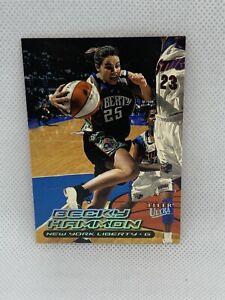 2000 Fleer Ultra WNBA Becky Hammon #21 RC Rookie   San Antonio Spurs Asst. Coach