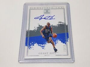 2019-20 Panini Impeccable Indelible Ink Auto GRANT HILL 09/25!!