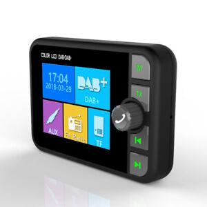 "2.4"" Digital DAB FM MP3 Adapter Screen Bluetooth Car Radio Electronics Magnetic"