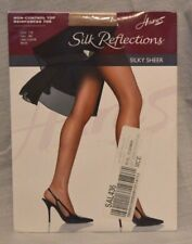 Hanes Silk Reflections Pantyhose Non-Control Top Size AB Small Little Color *39