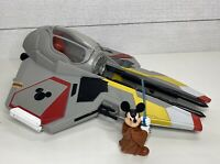 Disney Parks Star Wars Star Tours Jedi Mickey's Starfighter Without R2-MK Rare