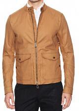 BELSTAFF Grantley Flap Pocket Jacket Tonal Top-Stitch 44 IT Coated Reg $1095