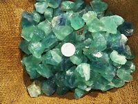 3000 Carat Lots of Green Fluorite Rough - Plus a FREE Faceted Gemstone