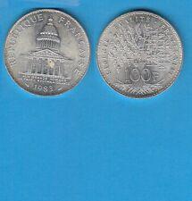 Gertbrolen 100 Francs Argent Le Panthéon 1983 Exemplaire Numéro  3