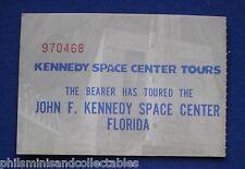 John F Kennedy Space Center Ticket  1970s