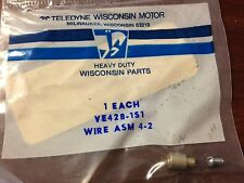 Teledyne Wisconsin Motor Wire Asm. VE428-1S1(Obsolete Wisconsin Parts)