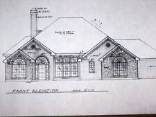 Custom Home Plan 3 Bed 2 Bath 1 Story 2729 A/C Sq. Ft 2 Car Garage 3741 TOTAL