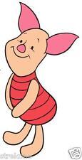 Piglet of Winnie The Pooh - Walt Disney's Cute Pig - Window Cling Decal Sticker