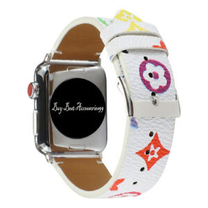 For Apple Watch Leather Band iWatch Strap for Series 6,5,4,3,2,1,SE 38/40 42/44m