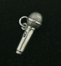 James Avery Sterling Silver Microphone Charm