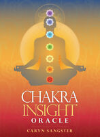 Chakra Insight Oracle Tarot Guidebook CARD DECK BLUE ANGEL