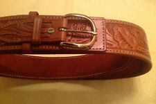 REDUCED PRICE!!! New Leather El Paso Saddlery Western River Gun Belt for Big Man