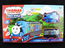 Thomas Cartoon Train Track World Classic Express 10pcs Motive Set 3+ Fun Toy