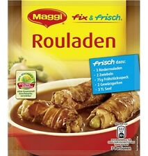 25 x MAGGI Rouladen Sauce New from Germany