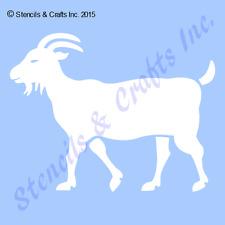 GOAT STENCIL ANIMAL STENCILS TEMPLATE CRAFT PAINT ART FARM PATTERN TEMPLATES NEW
