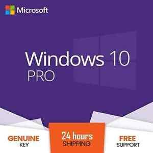 Microsoft Windows 10 Pro Activation Key 64 | 32 Bit