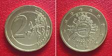 Irland - 2 Euro 2012  -  10 Jahre Eurowährung  -  hardvergolet -  stgl./ unc.