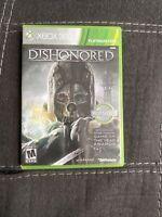 DISHONORED Platinum Hits (Microsoft Xbox 360, 2012) Complete W/manual