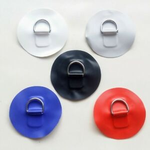 1 x INFLATABLE BOAT PVC D RING SMALL ROUND PATCH WATERCRAFT PARTS ACCESSORIES