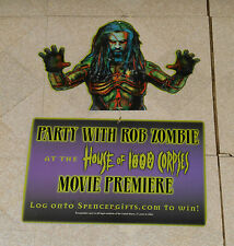 vintage original HOUSE OF 1000 CORPSES Rob Zombie mobile hanging display