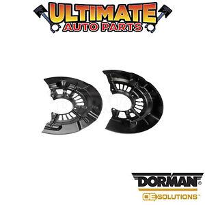 Dorman: 947-006 - Brake Backing Plate / Dust Shield - Front