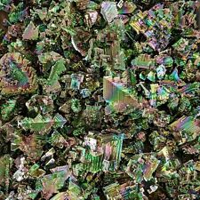 Bismuth 1 kg Lot (Seconds) Wholesale Rainbow Minerals Crystals (Flawed) Stones