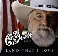 CHARLIE DANIELS/THE CHARLIE DANIELS BAND - LAND THAT I LOVE USED - VERY GOOD CD