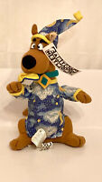 "NOS!! 1998 Scooby Doo In Pajamas 9"" Plush Stuffed Animal Cartoon Network"