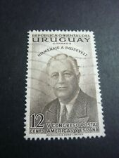 uruguay stamp old   timbre