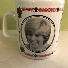 Kiln Craft pottery Marriage of Charles & Diana 1981 Commemorative mug