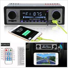 12V 4-Channel Car Autos In-Dash Bluetooth Stereo MP3 Player AUX USB FM & Remote