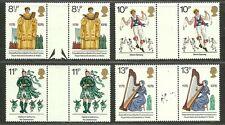 GREAT BRITAIN 1976 Very Fine MNH OG Pair Stamps Set Scott # 790-793 CV 2.60$