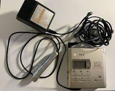 Sony Walkman Mz-R55Portable Minidisc Recorder