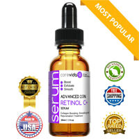Retinol Serum 2.5% With Vitamin C Matrixyl 3000 Argireline Ferulic Acid 1oz