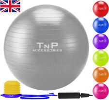 Palle di argento Dimensioni 55cm per esercizi per palestra, fitness, corsa e yoga