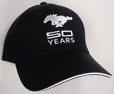 Hat Cap Ford Mustang 50 Years Black H231