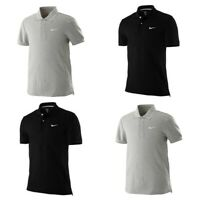 Nike Mens Polo Shirt Classic SS Pique Cotton Tee T Shirt For Men Size