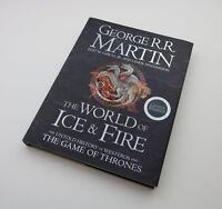 George R.R Martin Signed Game Of Thrones Book Encyclopedia Autograph Memorabilia