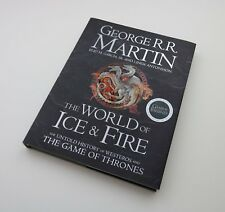 George R.R Martin Signed Game Of Thrones Book Encyclopedia Autograph Memorabilia