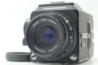 【MINT】 Hasselblad 500CM C/M Black , Planar C 80mm F2.8, A12 Type II from JAPAN