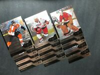2013-14 UD Upper Deck Double Diamond Lot Of 12 With Tony Esposito,Peter Stastny