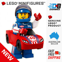 LEGO® Collectable Minifigures™ - Race Car Guy - Series 18, #13 - NEW