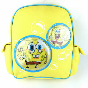 Official Spongebob Squarepants Kids Bubble Backpack Rucksack N School Bag New