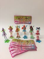 Kinder Surprise Winx Club Limited Edition Complete Set of 6 BPZ Rare RUSSIA 2009